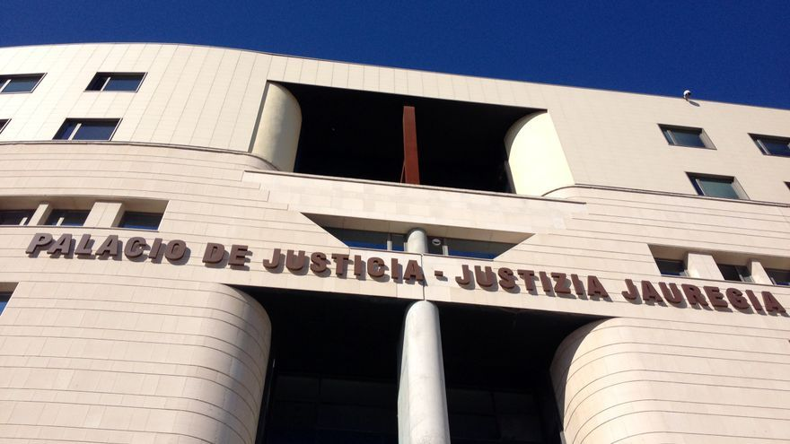 El Palacio de Justicia ubicado en Pamplona.