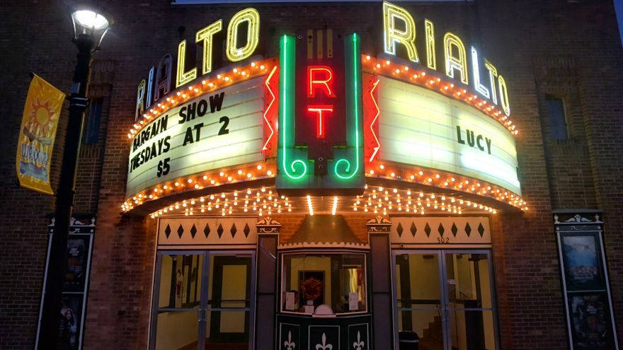 """Rialto Theatre, en Los Ángeles, uno de los escenarios de """"La La Land"""""""