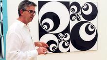 Afundación expone la obra geométrica y espiritual de José Antonio Miguez