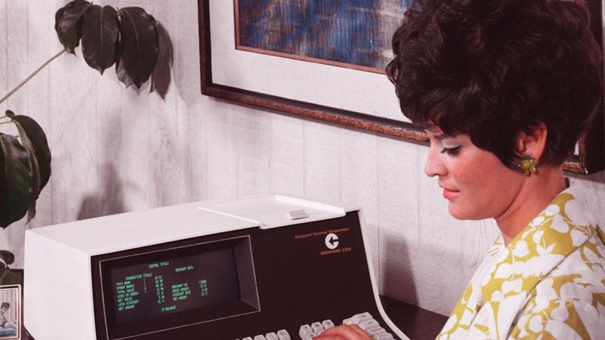 Un Datapoint 2200 de la Computer Terminal Corporation en 1970