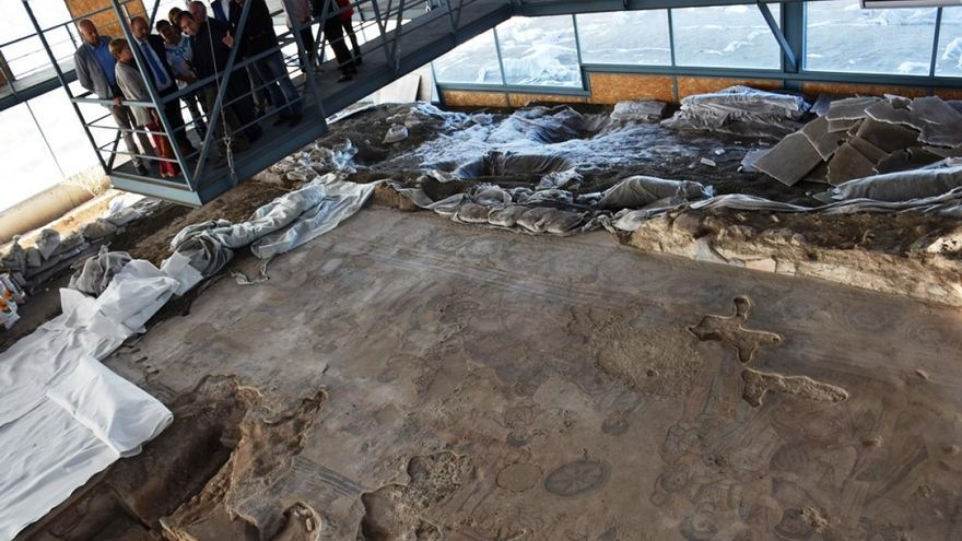Excavaciones en Noheda