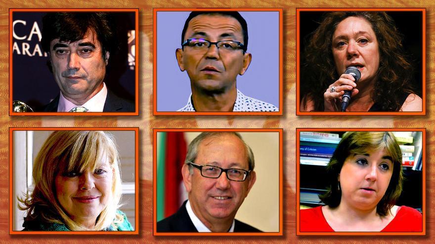 Los seis nuevos consejeros de TVE