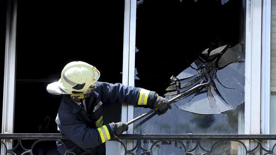 Muere un hombre en Sestao por inhalación de humo tras un incendio en su casa