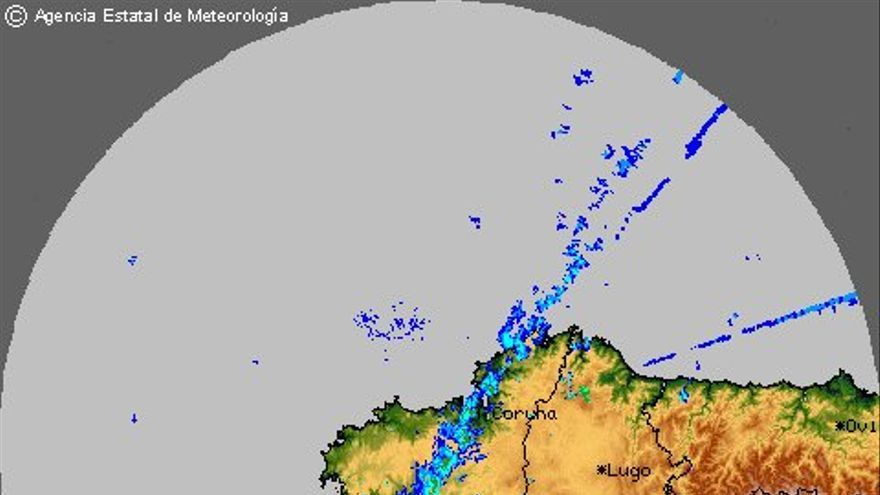Precipitaciones en Galicia