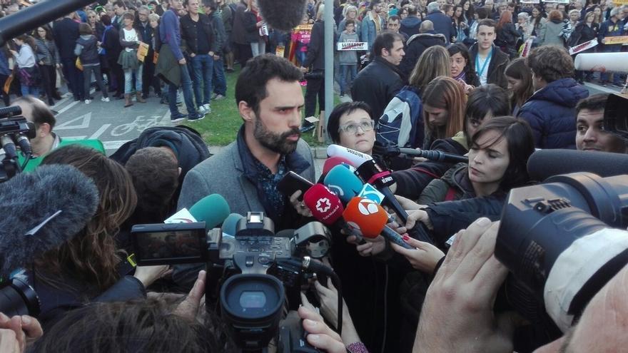 Torrent (ERC) dice que transformarán el clamor de libertad en votos
