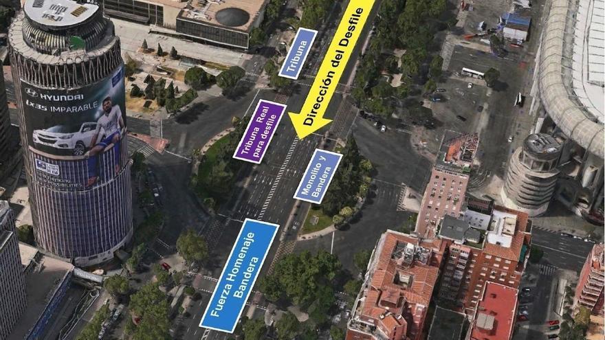 Los Reyes presidirán este jueves el desfile del 12 de octubre bajo el lema 'Orgullosos de ser españoles'