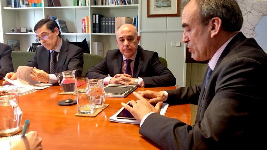 Reunión en el Ministerio de Fomento sobre el nodo logístico de Talavera