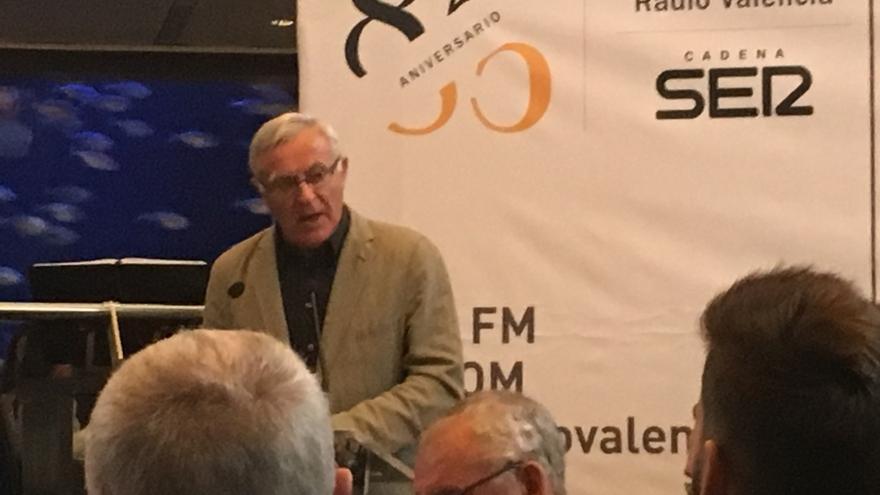 El alcalde de Valencia, Joan Ribó, en el acto organizado por la Cadena Ser.