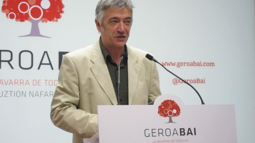 Geroa Bai quiere las competencias de ferrocarriles de cercanías y exige la finalización de la autovía Pamplona-Jaca