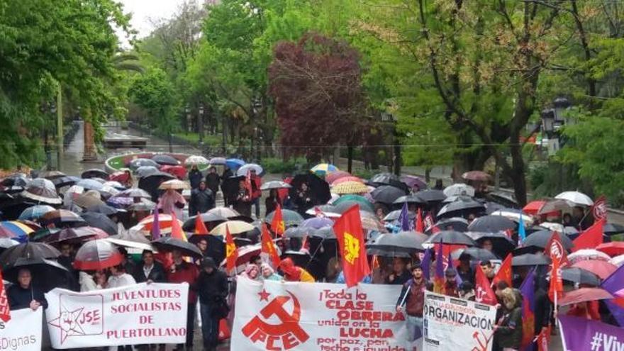 Manifestación en Puertollano (Ciudad Real)