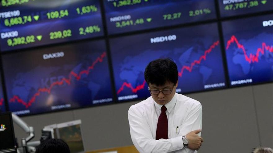 El Kospi surcoreano sube un 0,17 por ciento hasta los 1.981,83 puntos