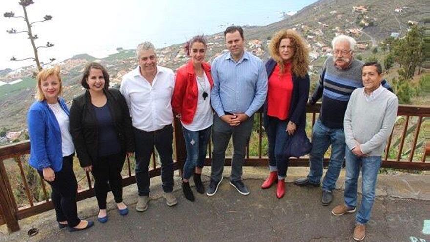 Candidatura del PSOE al Ayuntamiento de Fuencaliente.
