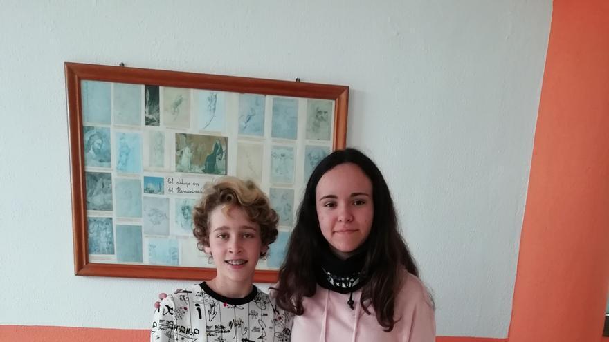 Aimar Rodríguez Martín y Amanda Pérez López.