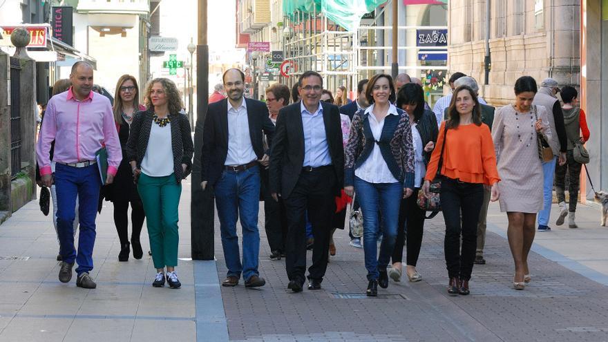 José Manuel Cruz Viadero encabeza la candidatura socialista a la Alcaldía de Torrelavega.