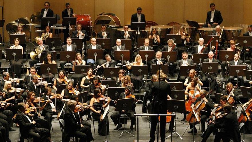 Actuación de la Orquesta Sinfónica de Tenerife / Cabildo de Tenerife