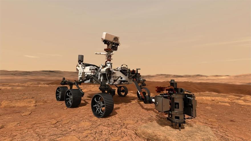 Archivo - Dos equipos investigadores de UPV/EHU participan en la misión que depositará el laboratorio móvil en Marte este jueves