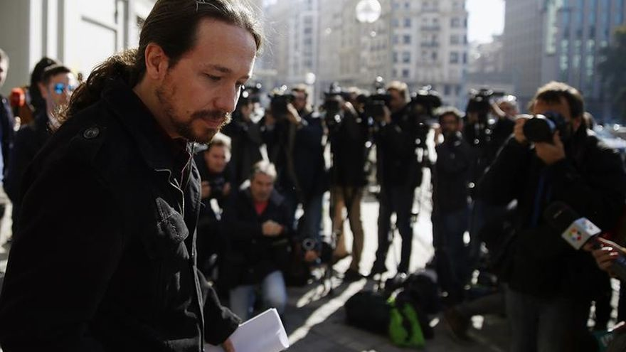 Iglesias ve la consulta en Cataluña como única vía para evitar enfrentamiento