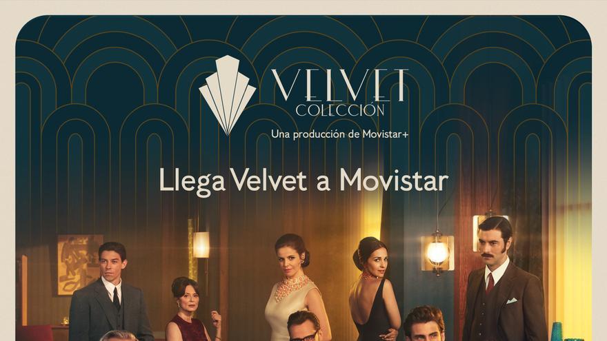 Cartel oficial de Velvet Colección en Movistar+