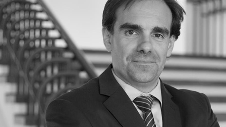 El director de Innovación y Transferencia, Gorka Artola. Fotos: Tere Ormazabal (UPV).