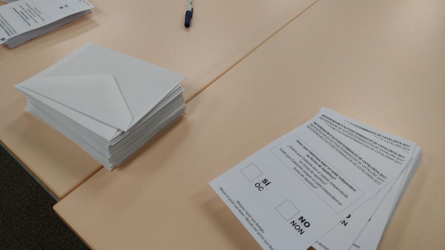 Papeletas del referéndum