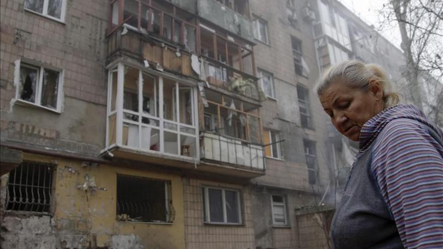 Mueren seis civiles, dos de ellos niños, en un ataque contra el bastión rebelde de Donetsk