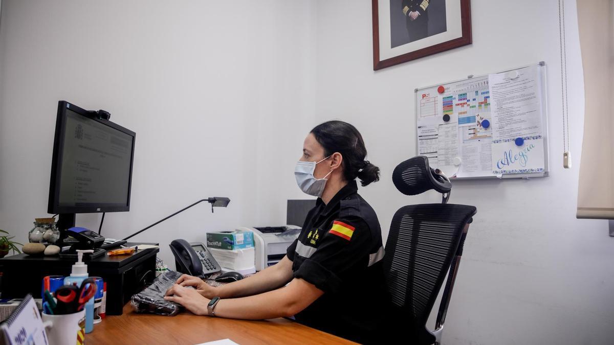 Los rastreadores se encuentran en la base Conde de Gazola del V Batallón de la Unidad Militar de Emergencias (UME) en León.