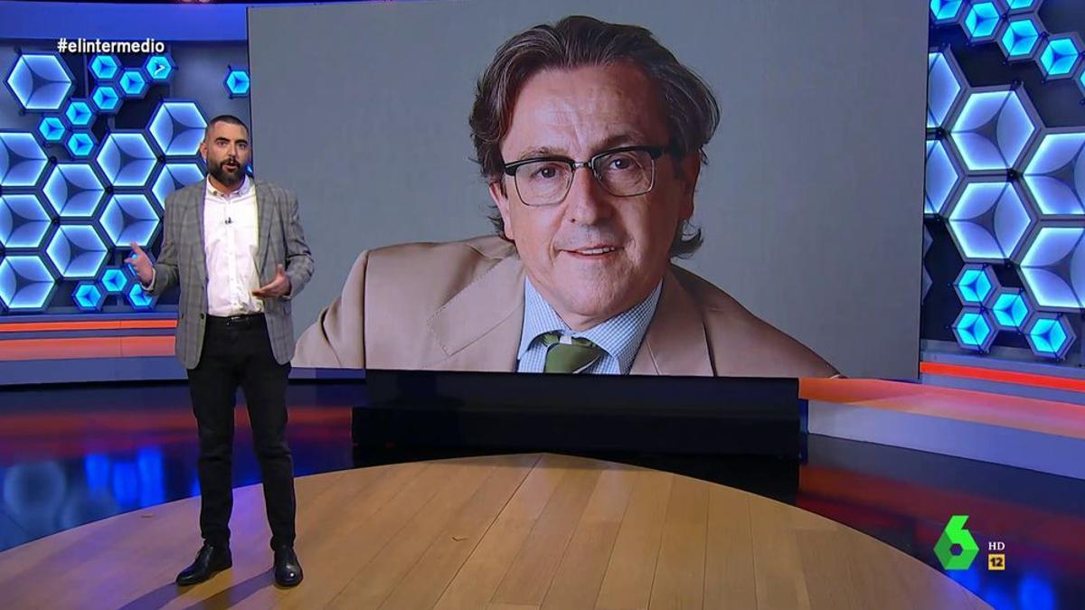 Dani Mateo, dirigiéndose a Hermann Tertsch en 'El Intermedio'