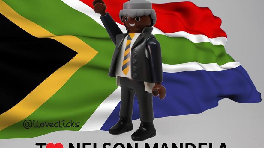 I love Nelson Mandela