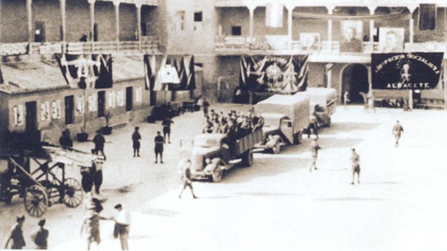 Cuartel de las Brigadas Internacionales en Albacete / Memòria Repressió Franquista