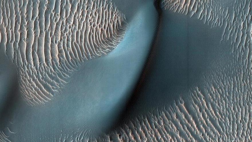 La NASA confirma que hay agua líquida en Marte