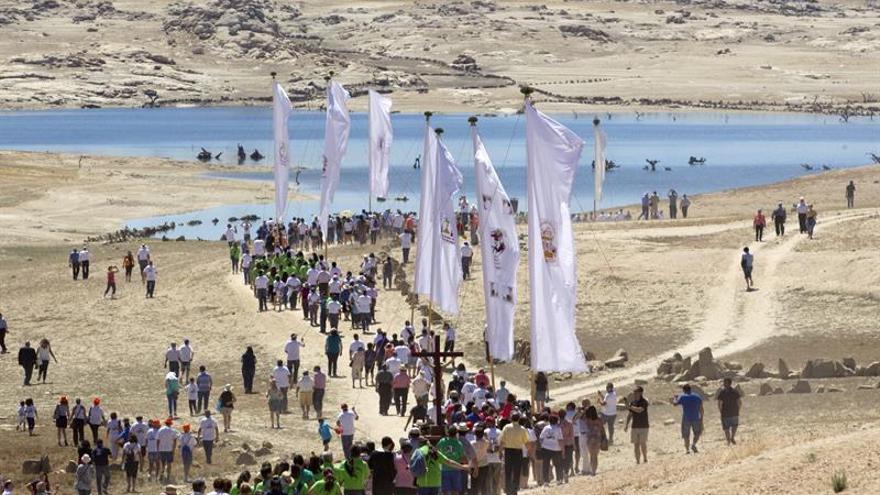 Sayago, en Zamora, homenajea el pueblo anegado por el embalse hace 50 años