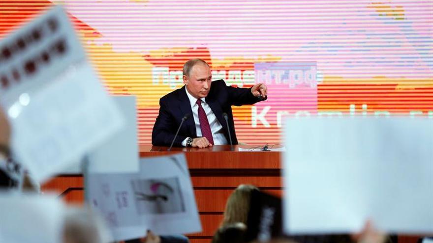 Anuncian oficialmente el comienzo de la campaña para las presidenciales rusas