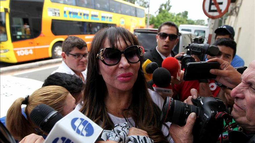 La Fiscalía paraguaya acusa de tenencia de cocaína a la actriz Moria Casán