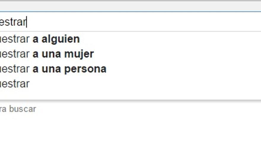 La mera búsqueda en Google no sería delito