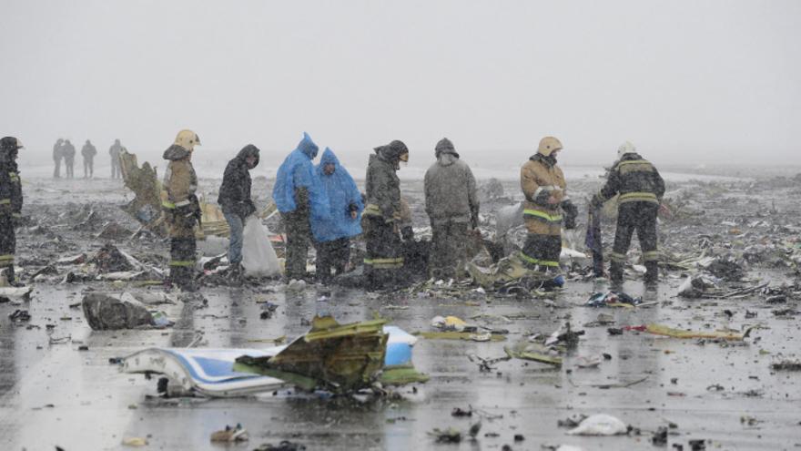 Mueren 62 personas, entre ellos dos españoles, al estrellarse un avión en el sur de Rusia