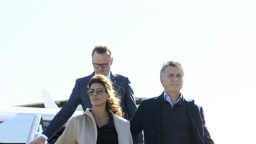 Macri y Awada disfrutan del fin de semana holandés antes de la visita oficial