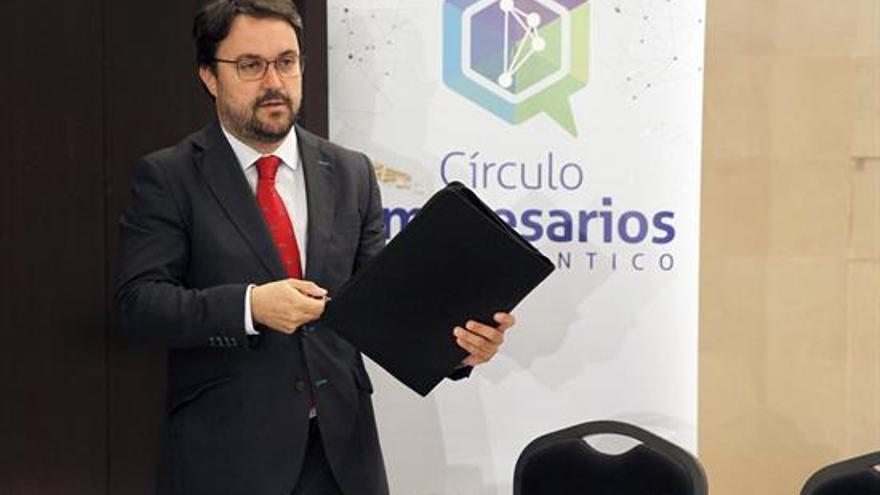 Asier Antona, presidente del PP en Canarias