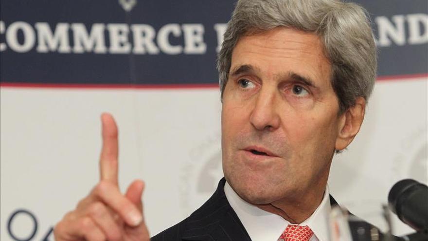 Kerry llega a Israel para intentar relanzar el proceso de paz