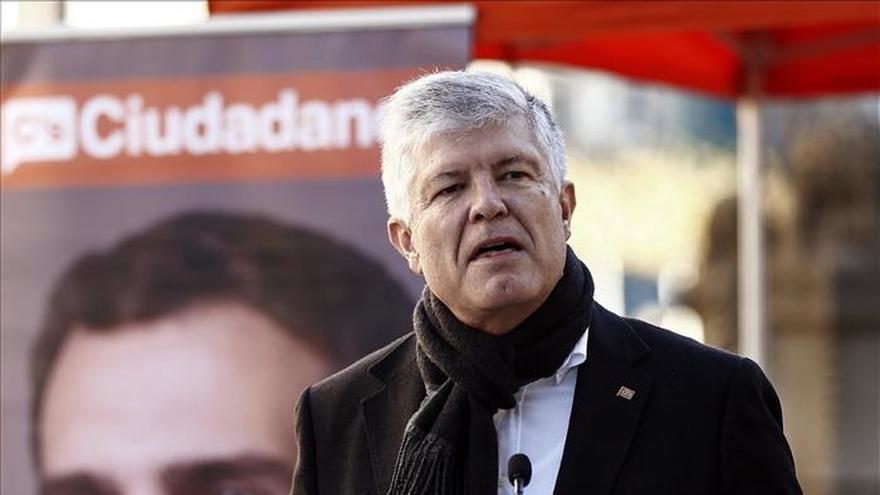 Matías Alonso (C's): La muleta del nacionalismo ya no sirve, es hora de consenso