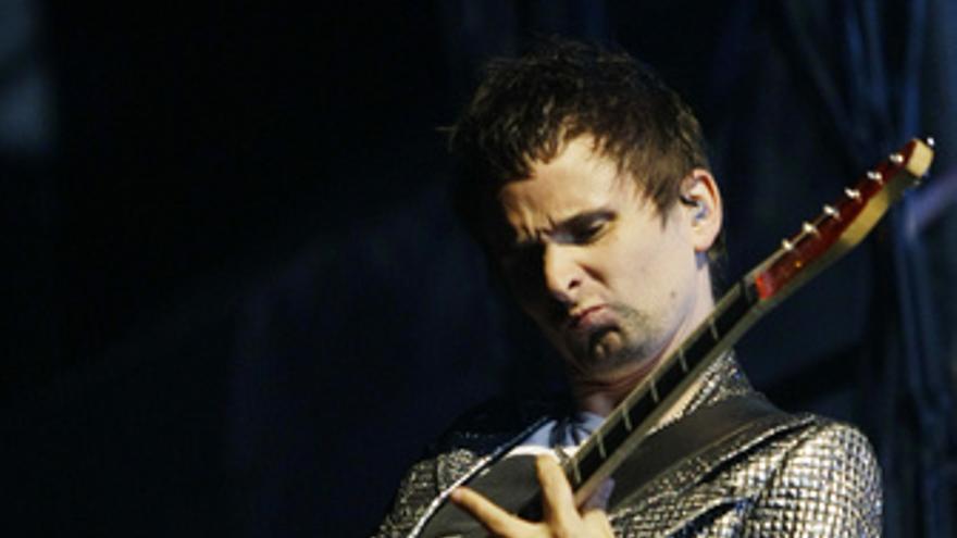 Matt Bellamy, cantante y guitarrista de Muse