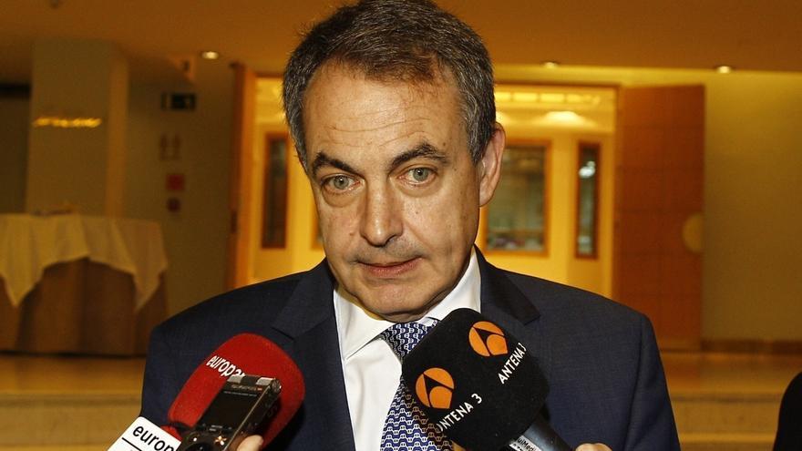 """Zapatero no ve la aplicación del artículo 155 de la Constitución y cree que """"antes o después habrá que hablar"""""""