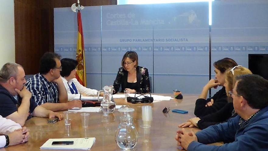 Reunión con el PSOE: FOTO: Sí a la Tierra Viva
