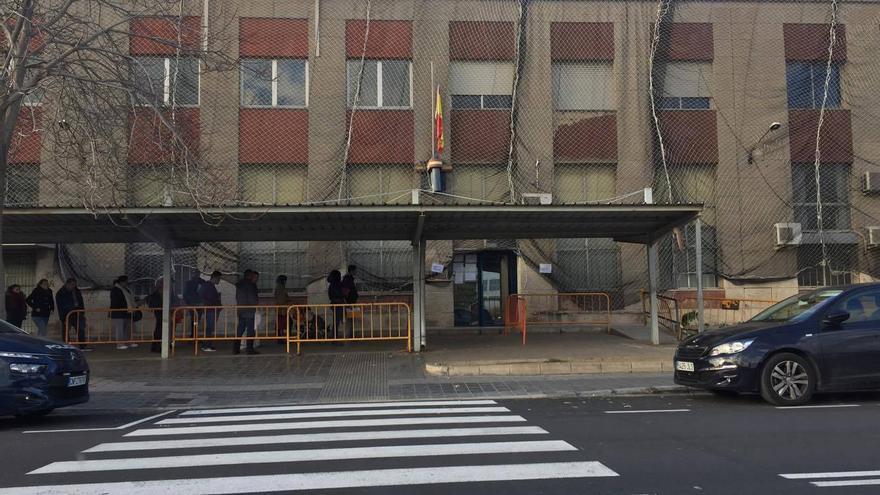 La comisaría de la Policía Nacional en Vara de Quart.