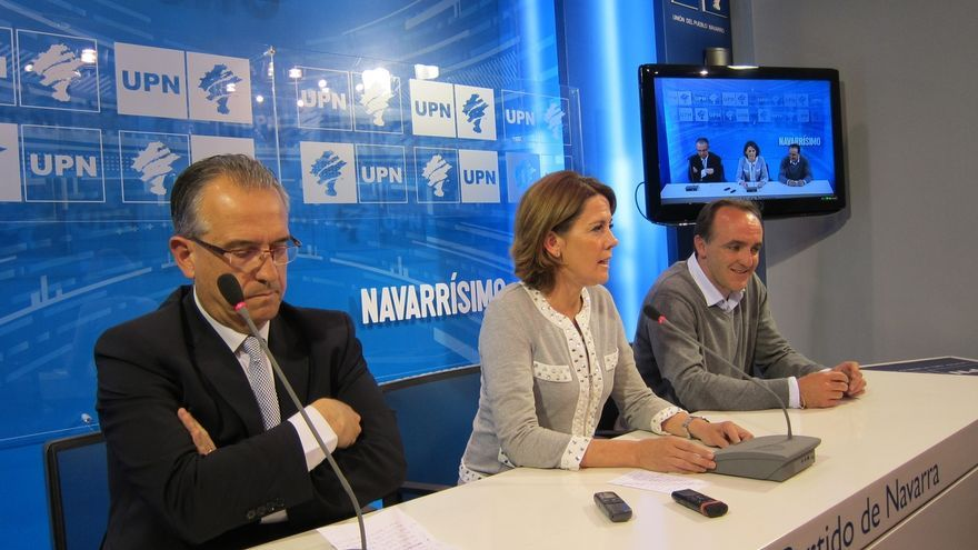 """Javier Esparza dice estar """"preparado"""" para liderar una oposición que sea """"contundente"""""""