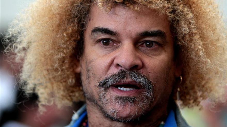 """""""El Pibe"""" Valderrama se postula al Senado colombiano por el Partido de la U"""