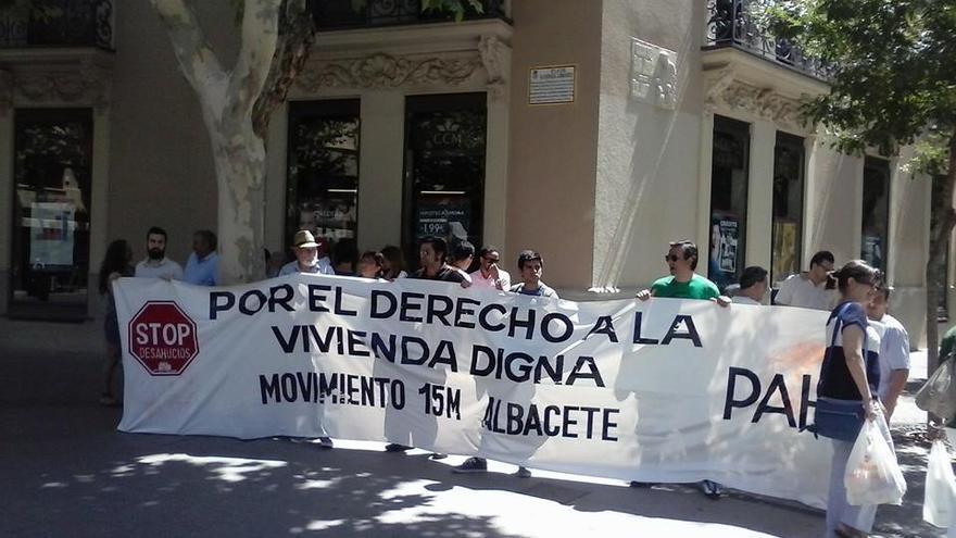 Stop Desahucios Albacete, foto del colectivo
