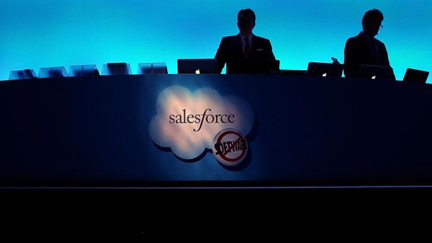 Salesforce sí que fue la primera empresa en apostar por la construcción de web apps