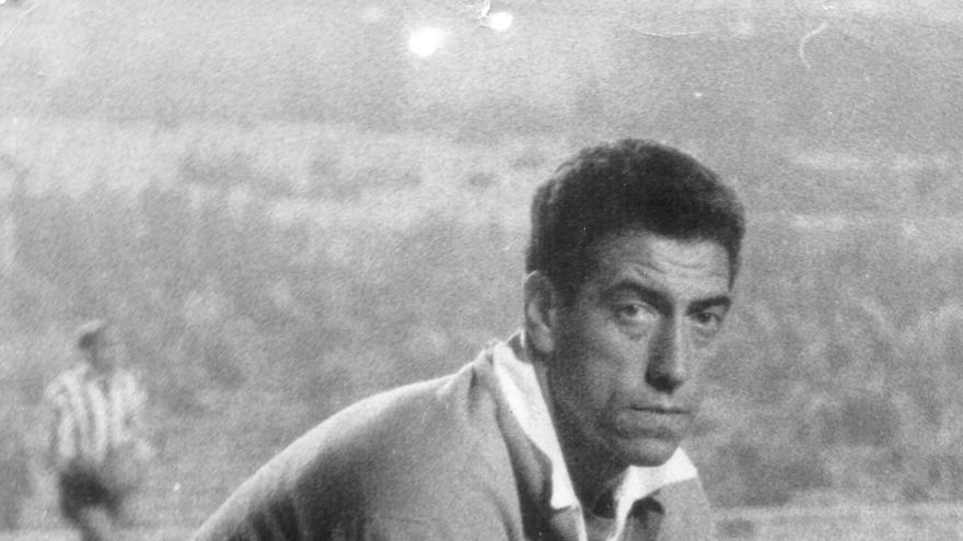 """Andrés Gómez Rodríguez """"Cuco"""", portero del CD Tenerife de los años 50 y 60 del siglo pasado."""