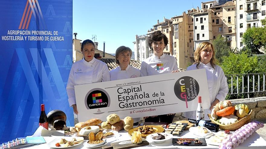 Presentación de la candidatura tras la designación de Cuenca como finalista