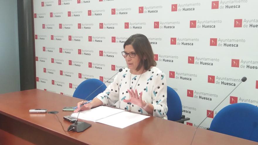 La concejal de Seguridad Ciudadana del Ayuntamiento de Huesca, Teresa Sas